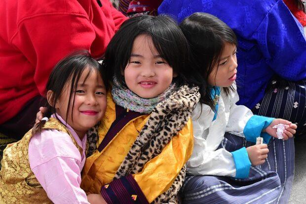 Bhutan villaggio della feicità
