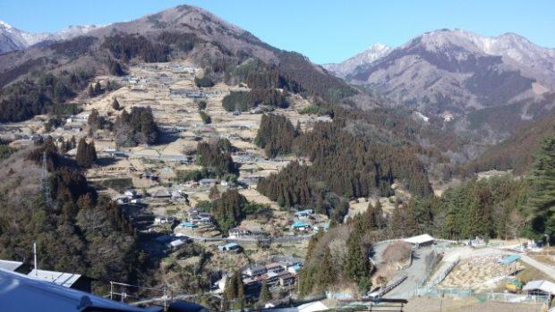 ochiai village Tokushima nell'isola Shikoku