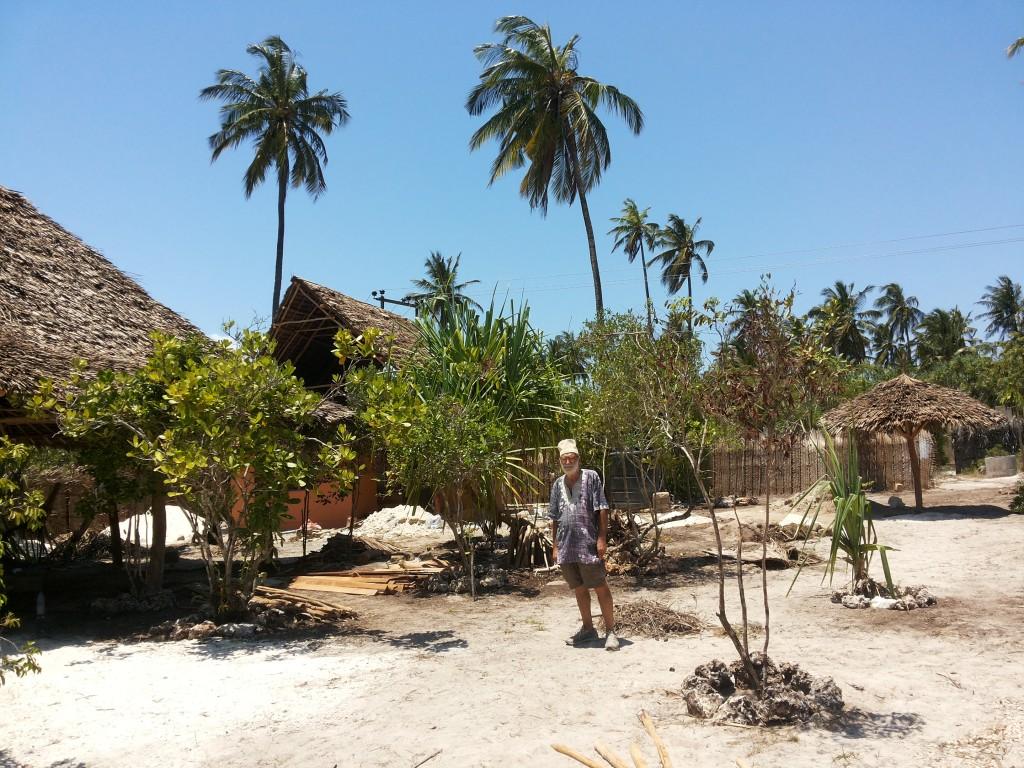 NINO VESSELLA SI E' TRASFERITO A VIVERE A ZANZIBAR IN TANZANIA