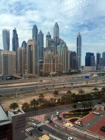 vivere a Dubai Annette Antinori