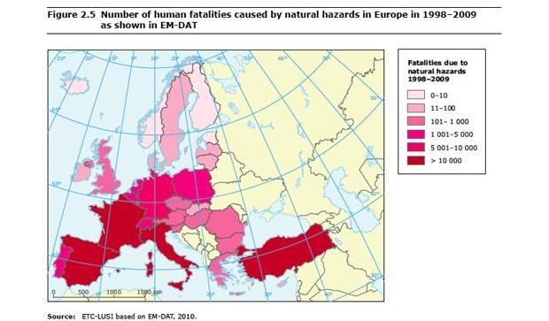 catastrofi naturali Europa Italia calamità naturali 3