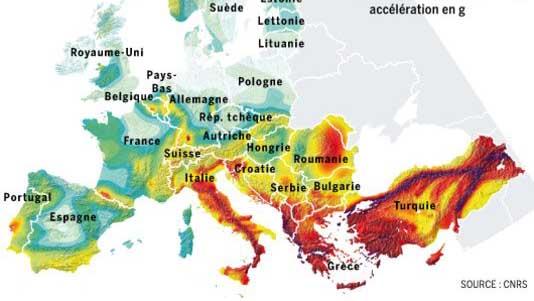 catastrofi Europa Italia calamità naturali
