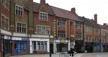 Kettering_-_shops_on_Market_Street