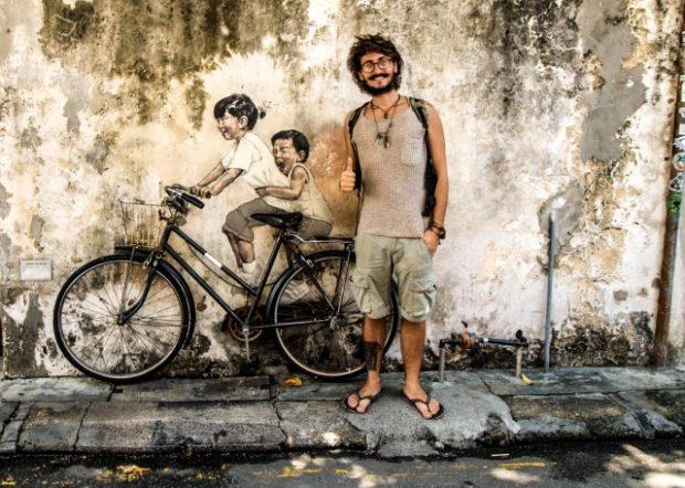 Antonio Di Guida il globetrotter di 24 anni che ha deciso di vivere viaggiando