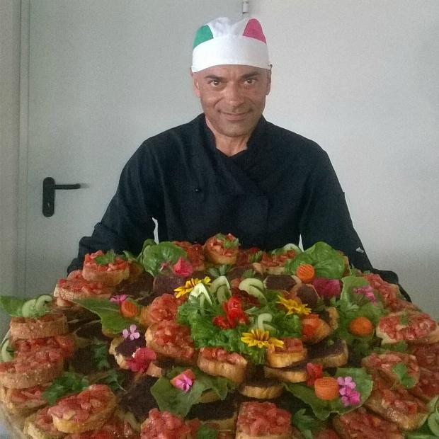 Maurizio Chef Romano viaggia e lavora in giro per il mondo da oltre 15 anni
