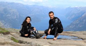 Il giro del mondo in moto di Jacqueline e Davide