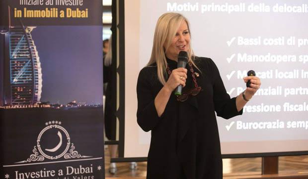 Tiziana Corradini vivere a Dubai