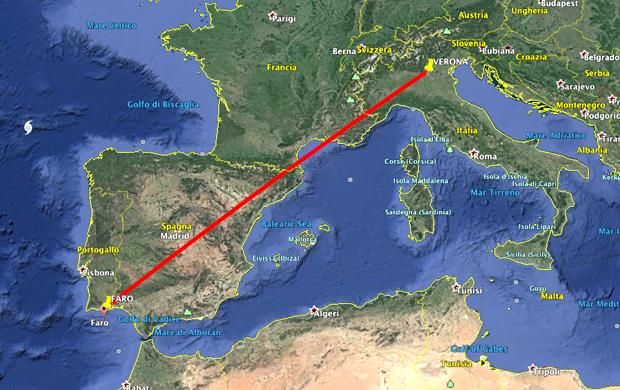 voli da Verona per Faro in Algarve