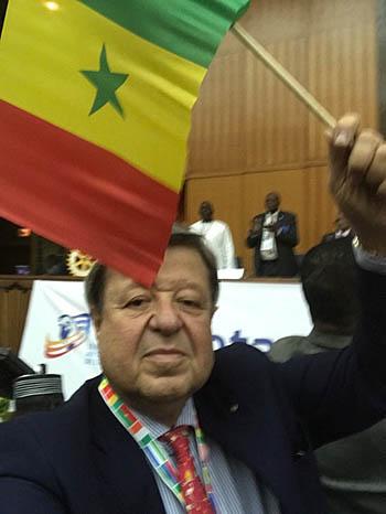 Giovanni Palmieri in pensione in Senegal