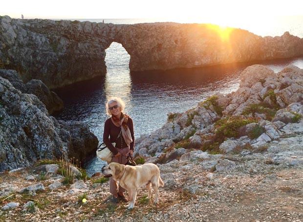 Gloria si è trasferita a vivere a Minorca