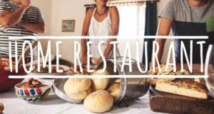 Home restaurant in Italia dal 2015