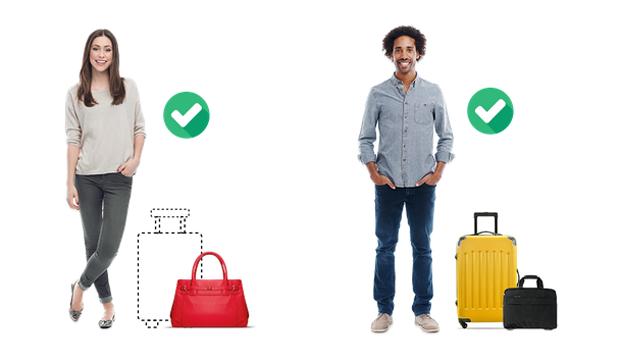 Le nuove regole per i bagagli a mano Ryanair 2018