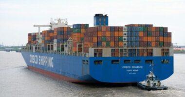 container trasporti marittimi internazionali