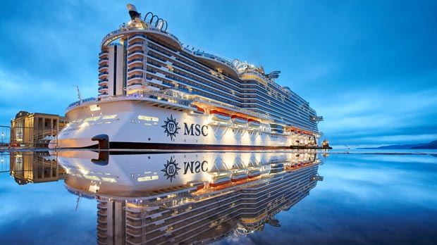 il countdown per MSC Seaview 4