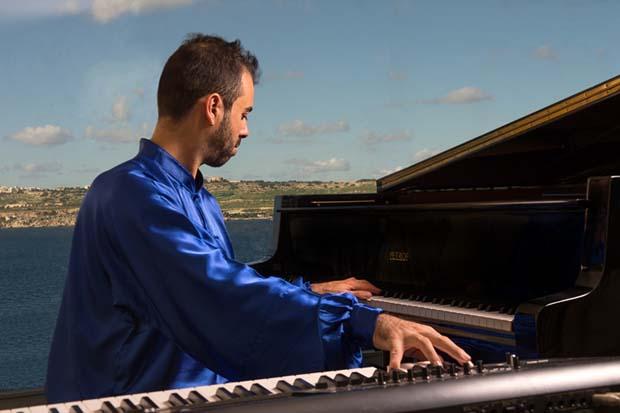 vivere a Malta Leonardo Barilaro pianista e Ingegnere Aerospaziale