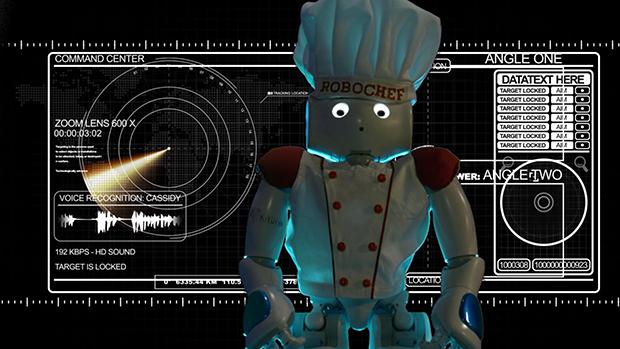 RoboChef_Marcello Pecchioli robot Bluestorm