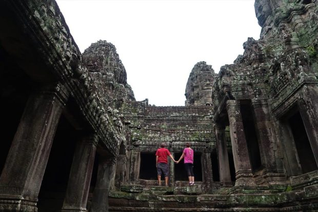 Una vita in viaggio Ankgor Wat, Cambodia