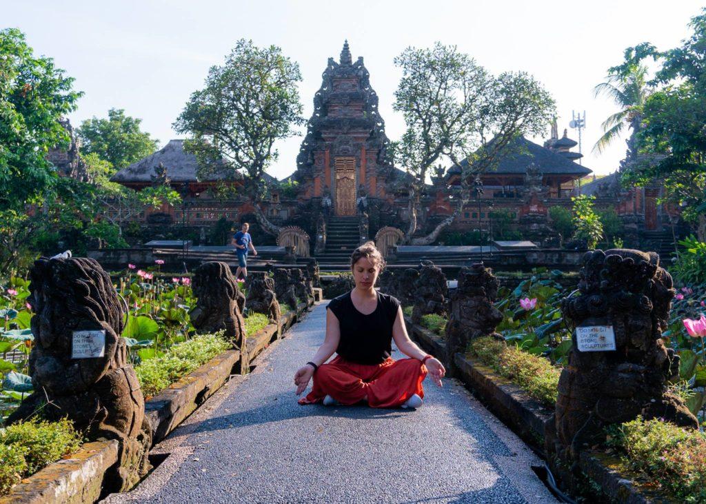 Viaggio in solitaria in Asia, vivere in un tempio buddista