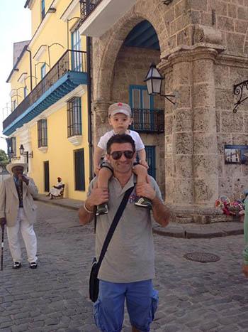 famiglia italiana trasferita a vivere e lavorare a Cuba