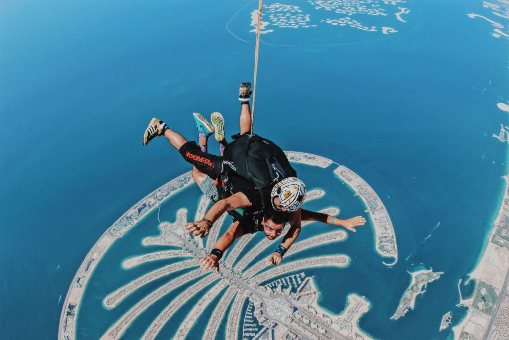 Angelo Meloni, Skydive a Dubai - ci parla della sua vita da Content Creator