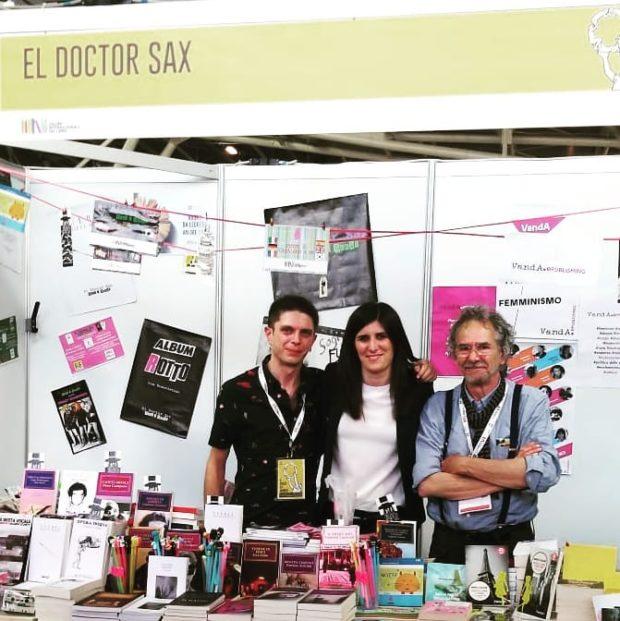El Doctor Sax: la storia di Gabriele e della sua casa editrice a Valencia; Fiera del Libro di Torino 2019