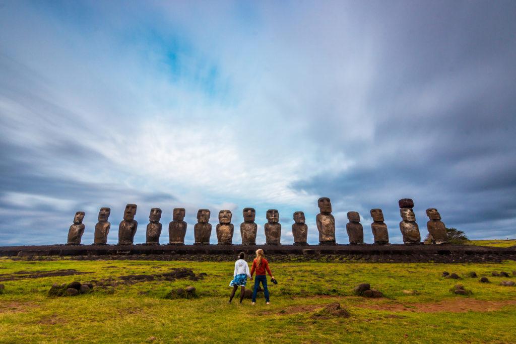 Storie di Travel Vlogger italiani: Giorgio e Martina di In Viaggio col Tubo ci raccontano la loro - Easter Island