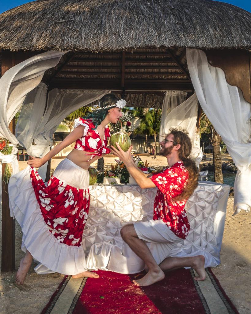 Storie di Travel Vlogger italiani: Giorgio e Martina di In Viaggio col Tubo ci raccontano la loro - Matrimonio: Mauritius