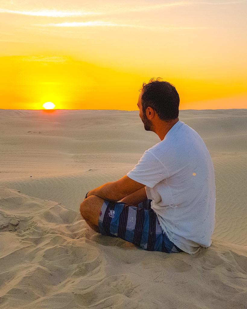 Viaggiare ed Inseguire i propri sogni: Daniel di Mondo Aeroporto si racconta - deserto