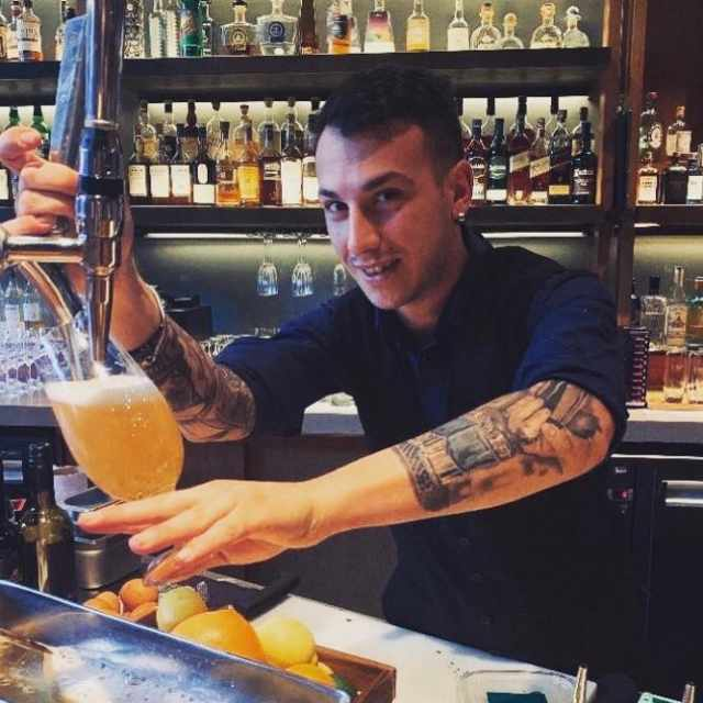 Lavorare a Londra - Bartender a Londra - Davide Marchi