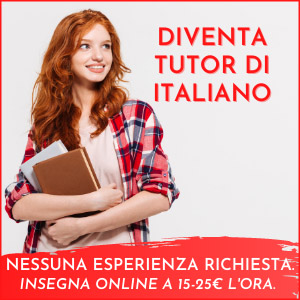 Cambiare vita diventare Tutor di Italiano all'estero