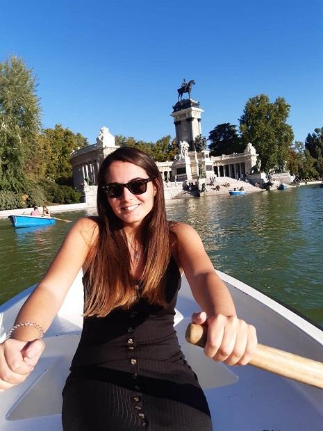 Ilaria Notarantonio ci racconta della sua passione per la Spagna e per Madrid.